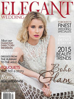 Презентация коллекции «Sole Mio» в журнале Elegant Wedding 2015 (Канада)